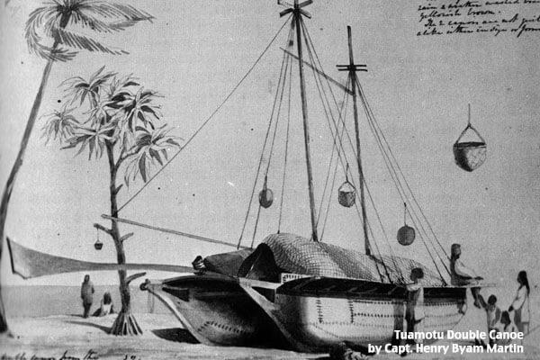 Tuamotu Canoe